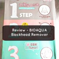 Review - BioAqua 3 step Blackhead remover