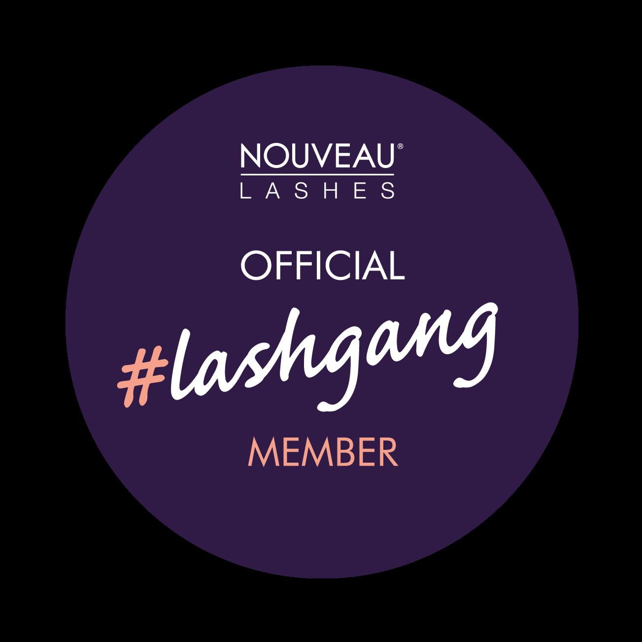 #lashgang badge