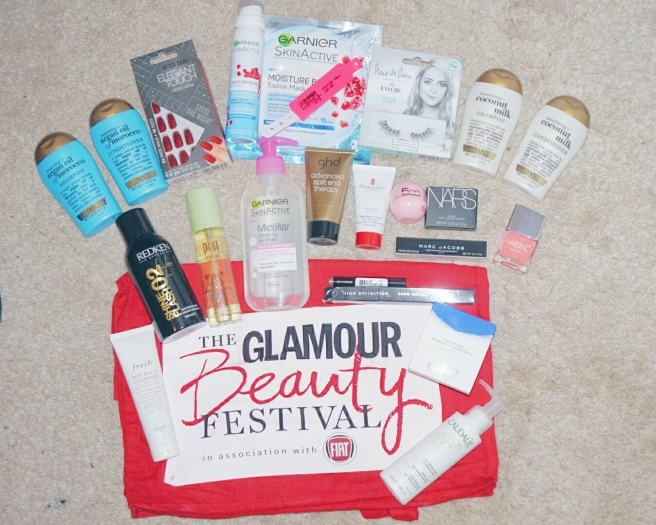 Glamour beauty bag
